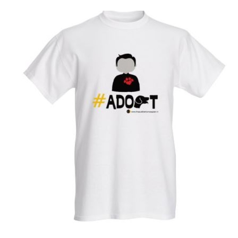 Adopt T-shirt for animal lovers (Male)