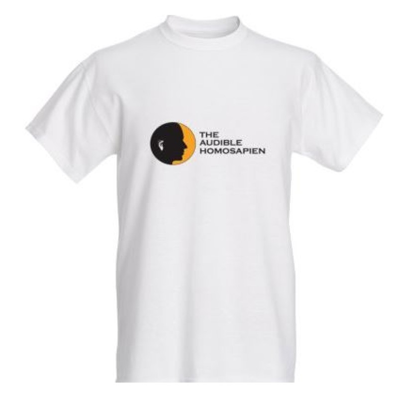 The Audible Homosapien logo T-shirt  (Female)